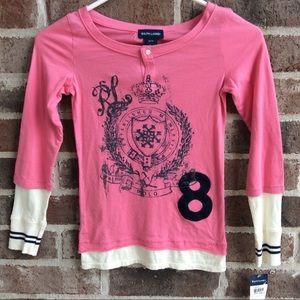 Polo Ralph Lauren Layered Shirt for Girls